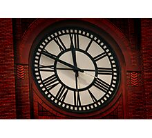 What Time Is It? Photographic Print