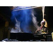 Ladakh, India: Subterranean Kitchen Photographic Print