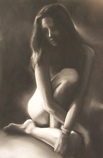 Soliloquy, charcoal+chalk; the truth about suicide. by pauldrobertson