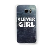 Clever Girl Samsung Galaxy Case/Skin