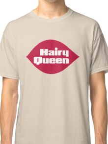 Hairy Queen Parody Logo Classic T-Shirt
