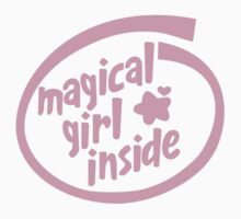 Magical Girl Inside by tuliptreetees