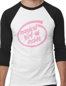 Magical Girl Inside Men's Baseball ¾ T-Shirt