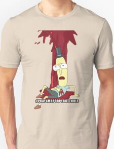 Rick and Morty: #PRAY4MRPOOPYBUTTHOLE Unisex T-Shirt