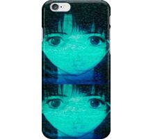 lain rein iPhone Case/Skin