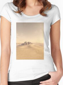 Swallowed by the Sand Women's Fitted Scoop T-Shirt