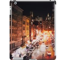 New York City - Night iPad Case/Skin