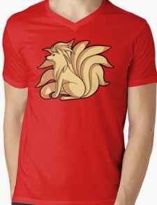 Ninetales Mens V-Neck T-Shirt