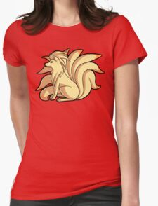 Ninetales Womens Fitted T-Shirt