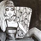Meet Me At The Smokers Lounge by Kim Shillington