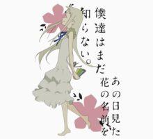 Meiko Honma AnoHana Anime by oncemoreteez