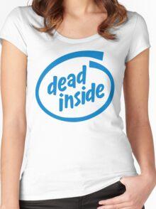 Dead Inside Women's Fitted Scoop T-Shirt