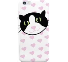 Cat with Hearts iPhone Case/Skin
