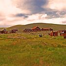 Bodie's abandoned skyline by the57man