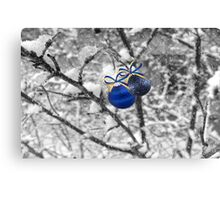 Blue Christmas ©  Canvas Print