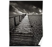 Chesil Boardwalk Poster
