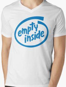 Empty Inside Mens V-Neck T-Shirt