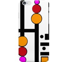 modernism red yellow pink 2014 iPhone Case/Skin
