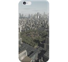 Old Town Hidden in the Future City iPhone Case/Skin