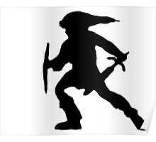 Dark Link From Super Smash Borthers Melee Poster