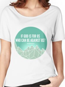 God Is For Us Women's Relaxed Fit T-Shirt