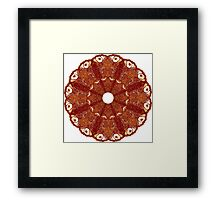Eyed Cymbal of Flame Framed Print