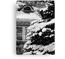 Country Home Christmas ©  Canvas Print