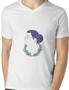 A Wreath of Cosmos Mens V-Neck T-Shirt
