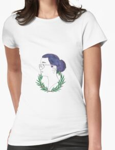 A Wreath of Cosmos Womens Fitted T-Shirt