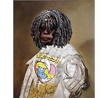 """Smurfalicious Chimp........"" Photographic Print"