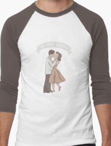 My Density Has Brought Me To You Men's Baseball ¾ T-Shirt