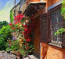A Tuscany Villa in Spring  by LeonD