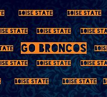 Boise State by chippedteacup