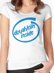 Dovahkiin Inside Women's Fitted Scoop T-Shirt