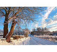 Winter in Scotland Photographic Print