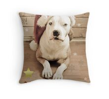 Merry X Throw Pillow