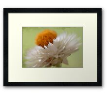 ~simple charm~ Framed Print