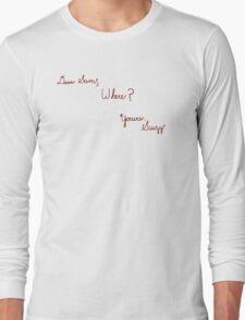 Dear Sam,  Long Sleeve T-Shirt