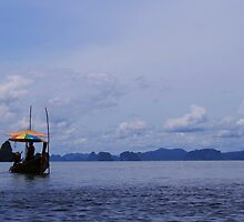 Floating Supermarket, Ko Phi Phi, Thailand by AngeliqueSinton