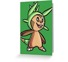 Chespin Greeting Card