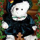 Teddy And Her cookie by Linda Miller Gesualdo