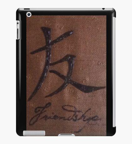 Chinese symbol for Friendship 7B iPad Case/Skin