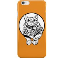 Sharpie Cat: Fluff iPhone Case/Skin