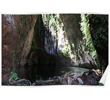 The Grotto Hamersley Gorge Poster