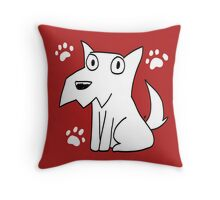 Sitting Charlie Throw Pillow