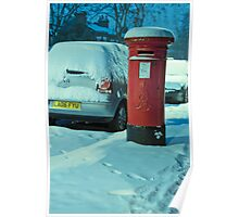 Cold Letters, Warm Heart: Snowy Letterbox Poster
