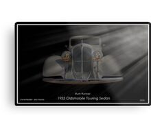 1933 Oldsmobile Touring Sedan - Rum Runner Metal Print