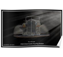 1933 Oldsmobile Touring Sedan - Rum Runner Poster