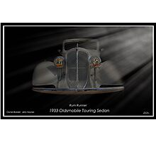 1933 Oldsmobile Touring Sedan - Rum Runner Photographic Print