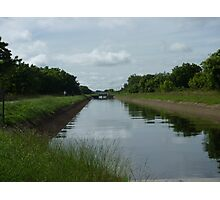 Canal in Sri Lanka Photographic Print